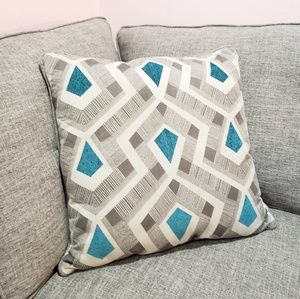 Brayden Studio | Accent Pillow Geometric Pattern